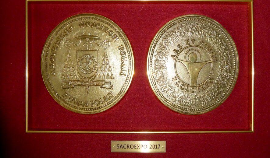 Medal Prymasa Polski za nasz ryngraf